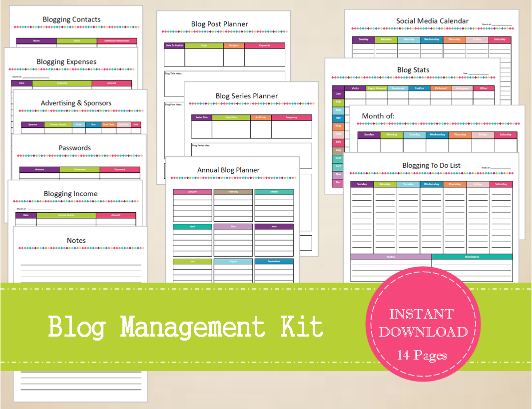 Blog Management Kit