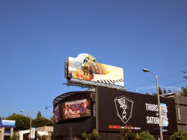 Tequila Herradura horseshoe extension billboard