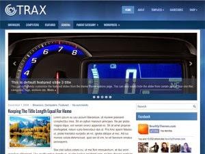 Trax - Free Wordpress Theme