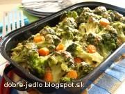 Zapečená brokolica so zeleninou - recept