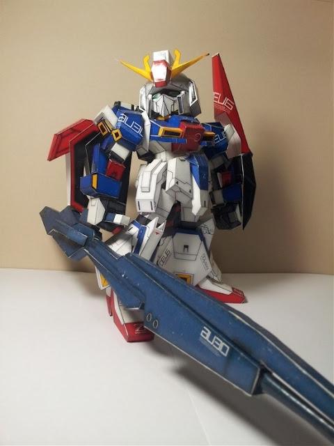 SD Gundam MSZ-006 Zeta Papercraft
