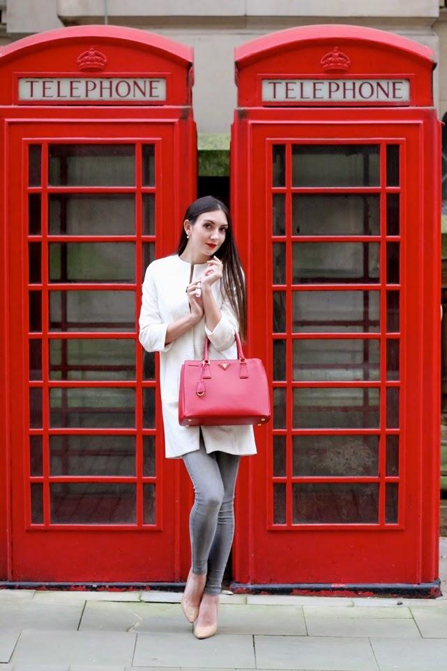 spring coat, coat sleeves 3/4, street style london and birmingham, professional model in birmingham and london