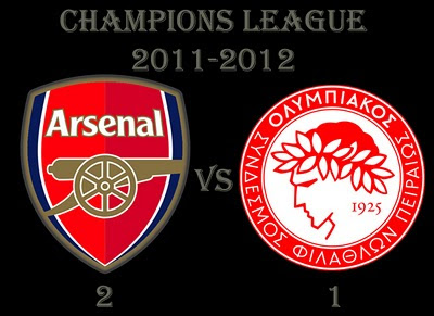 Arsenal vs Olympiakos Results Champions League Group Stage