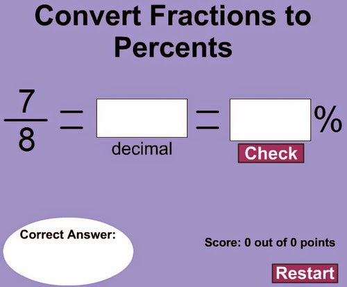 http://www.mathplayground.com/computation/Fractions_to_Percent_secure.swf