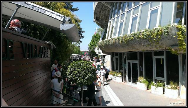 Roland Garros 2013 Le Village JC Decaux