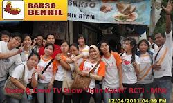 Crew dan Team TV Show Jalinan Kasih (RCTI - MNC)Di Bakso Benhil