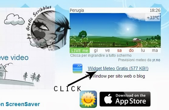 Youwindows widget meteo free