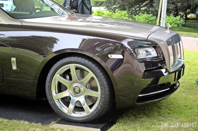 Rolls-Royce Wraith at Villa d'Este 2013