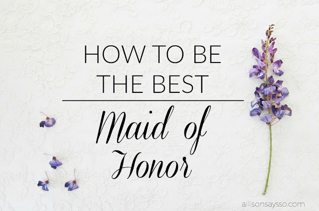 Maid of Honor, Weddings