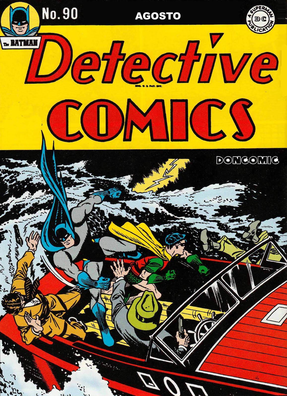 Detective Comics. Escaneos de Doncomic