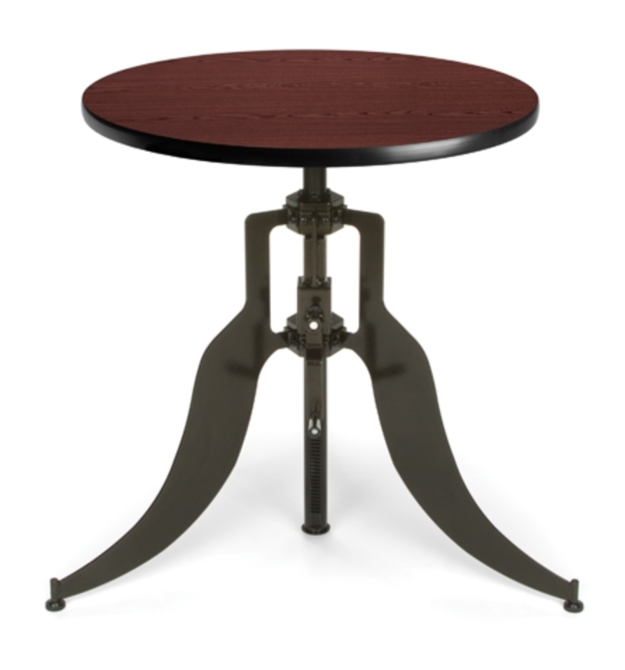 OFM Mahogany Endure Table with Round Top