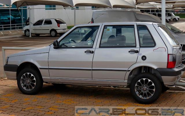 carro Uno Fiat 2014