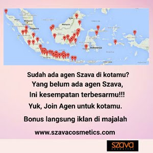 JOIN AGEN AREA Szava Cosmetics
