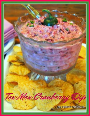 Tex Mex Cranberry Dip