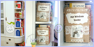 burlap and lace craft