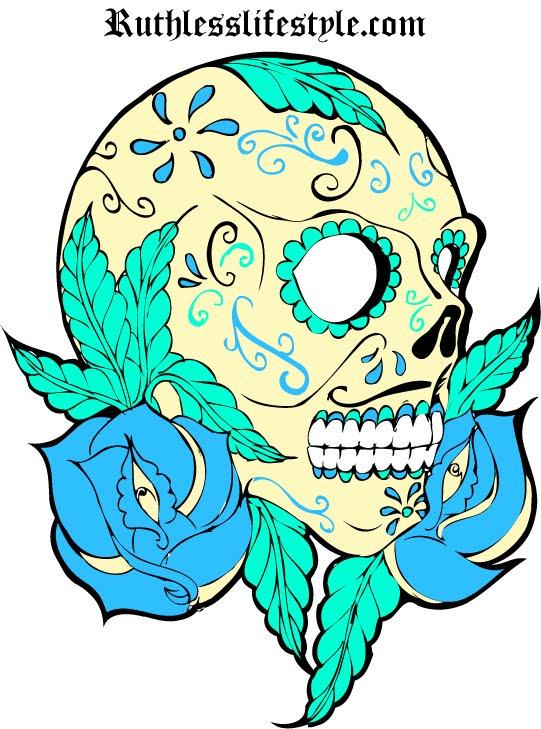 surttus  sugar skull