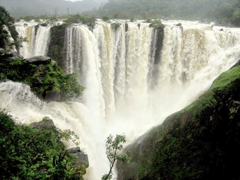The different names of Jog Falls waterfall in India
