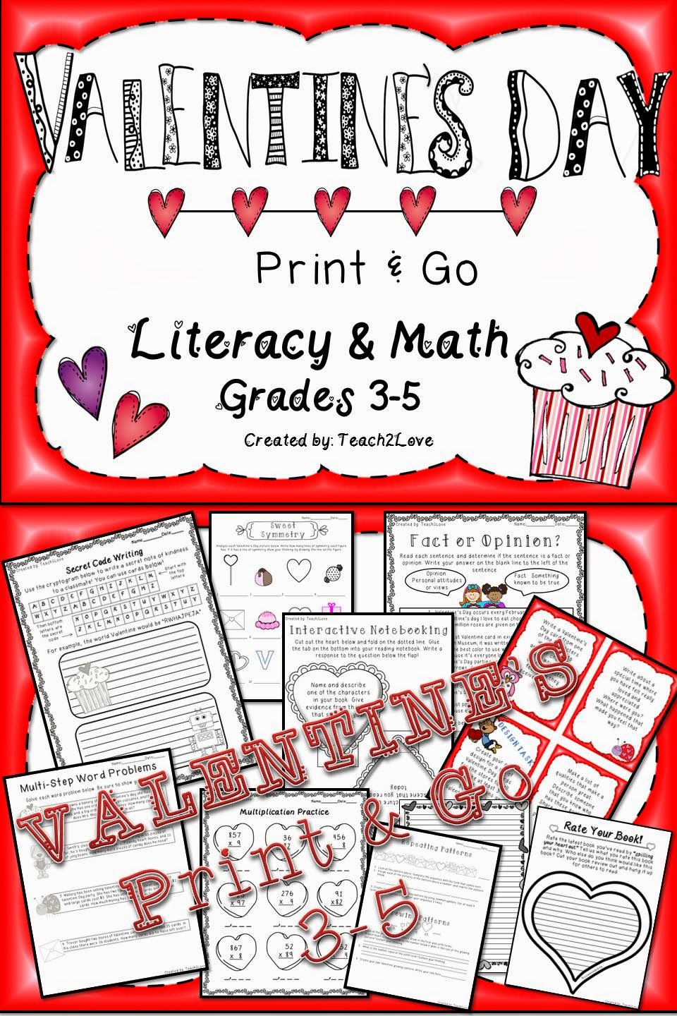 http://www.teacherspayteachers.com/Product/Valentines-Day-Literacy-Math-Print-and-Go-Activities-1097710