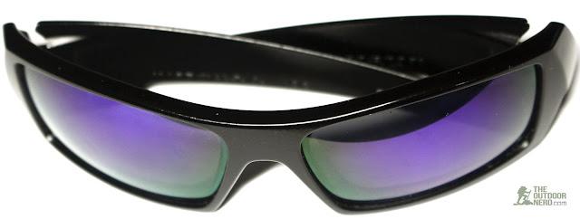 Walleva Replacement Lenses For Oakley GasCan Sunglasses - Purple Lenses 2