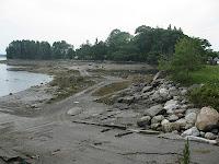 View at Bradford Point at Friendship, Maine