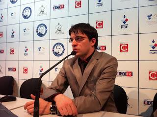 Maxime Vachier-Lagrave commente sa victoire sur Peter Svidler © Chess & Strategy