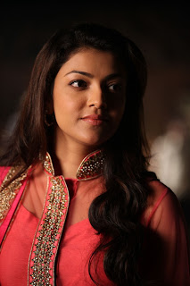Actress Kajal Agarwal Latest Pictures in Pink Long Dress in Sarocharu Movie  0002