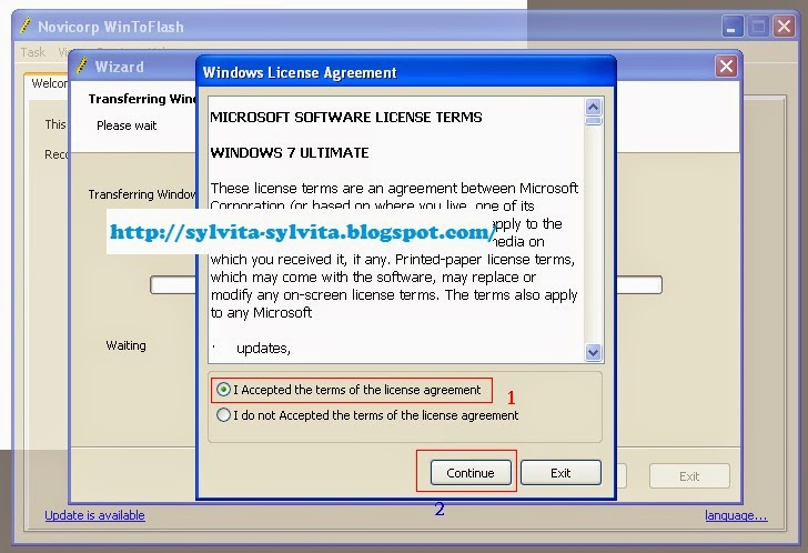 Panduan Cara Membuat Installer Win 7 Pada Flashdisk Dengan Menggunakan Win To Flash