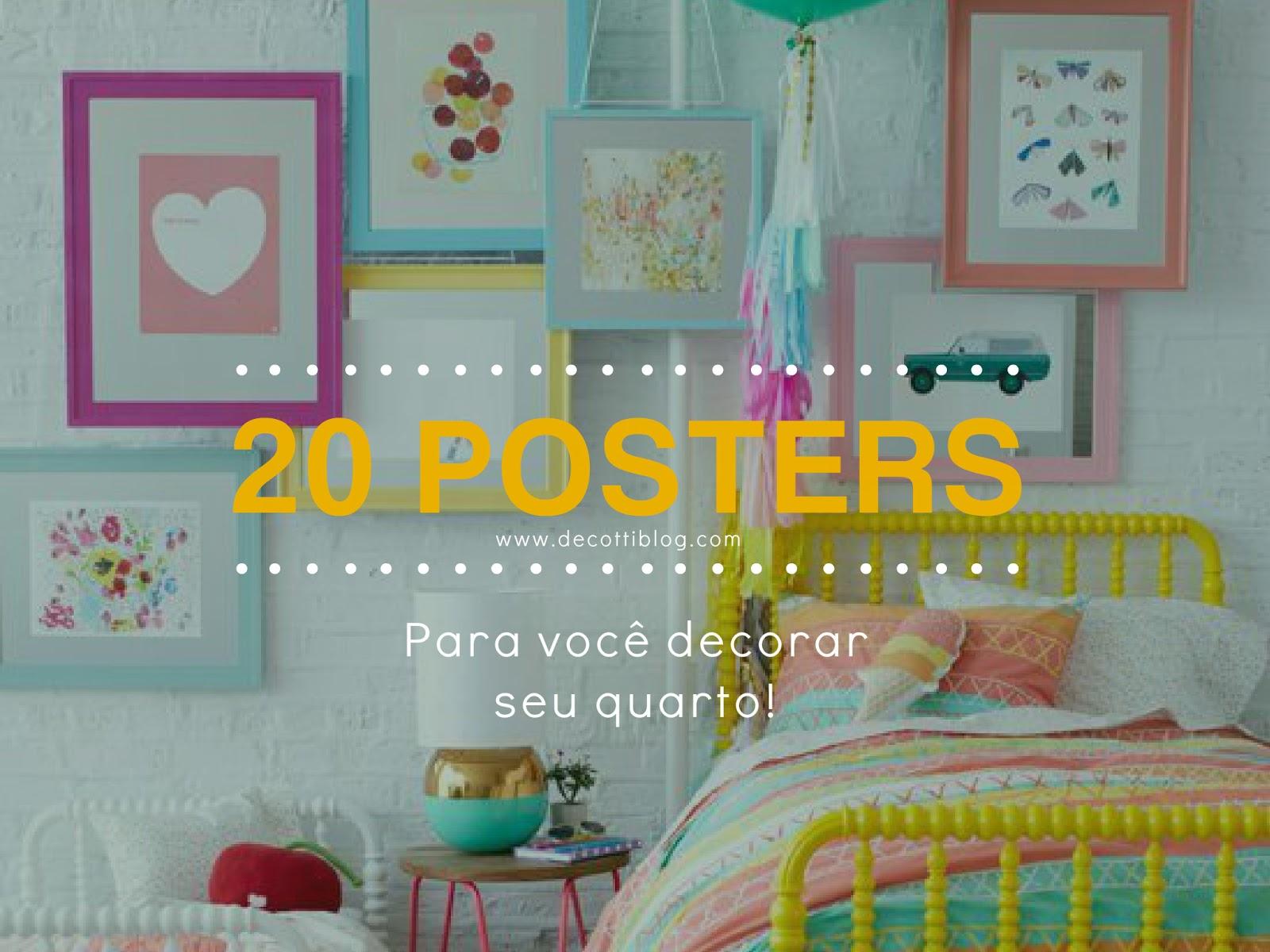 Decotti ~ Posters Para Imprimir Quarto E Guarda Roupa Para Quarto