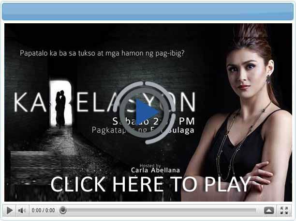 Karelasyon - Pinoy Show Biz  Your Online Pinoy Showbiz Portal