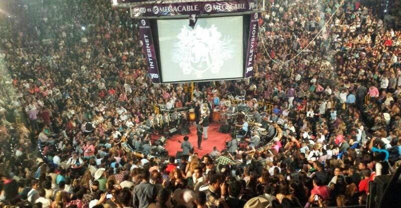 Palenque Fiestas de Octubre 2014
