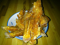 Fried Dried Sole Fish