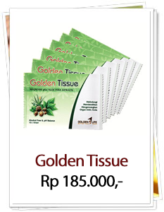 Golden Tissue Manjakani