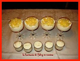 Bavarese allo yogurt e ananas