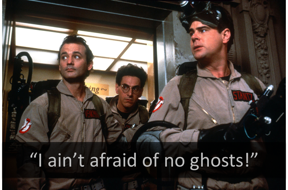 Sarah s aint afraid of no ghosts 4