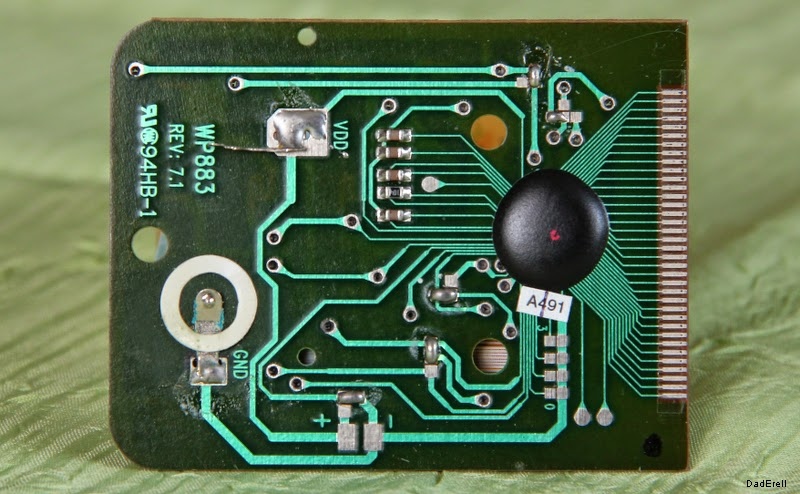 Circuit imprimé d'un convertisseur Euros-Francs