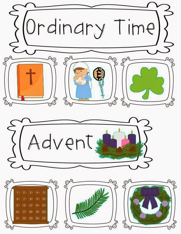 Religion primary classroom
