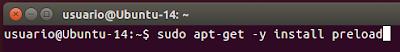 sudo apt-get -y install preload