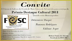 DELASNIEVE DASPET É DESTAQUE CULTURAL DE  2011