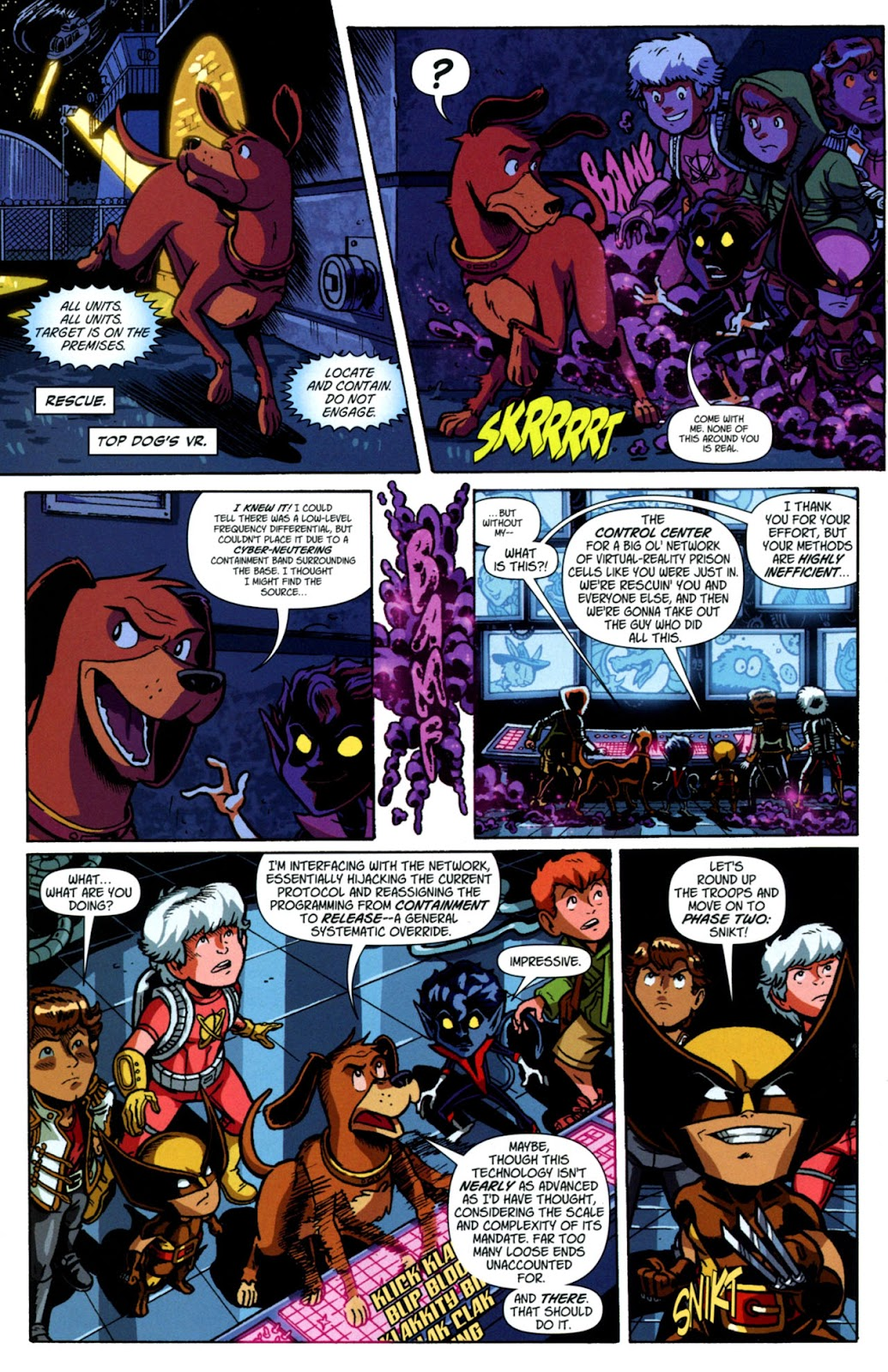 Read online X-Babies comic -  Issue #3 - 19