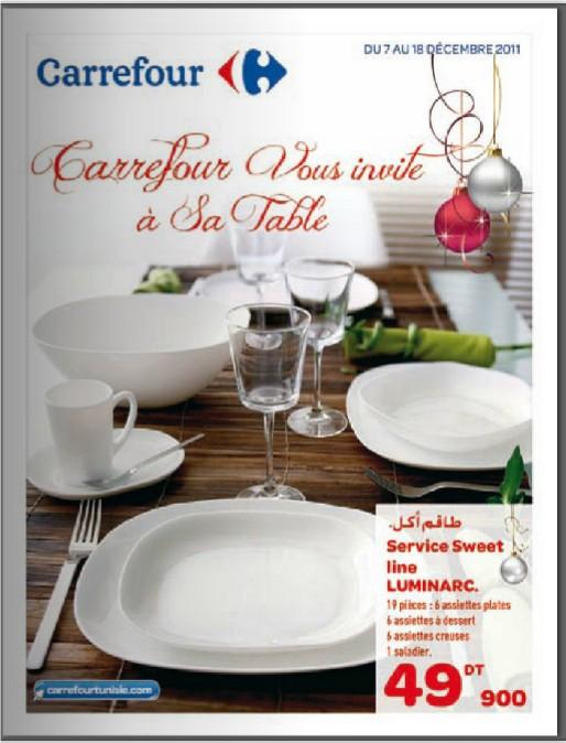 catalogue carrefour tunis