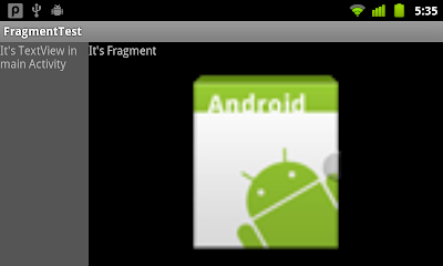 Fragment on Nexus One running Android 2.3.6