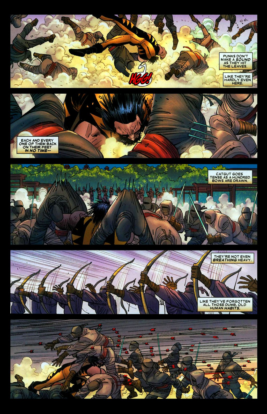 Read online Wolverine (2003) comic -  Issue #29 - 10
