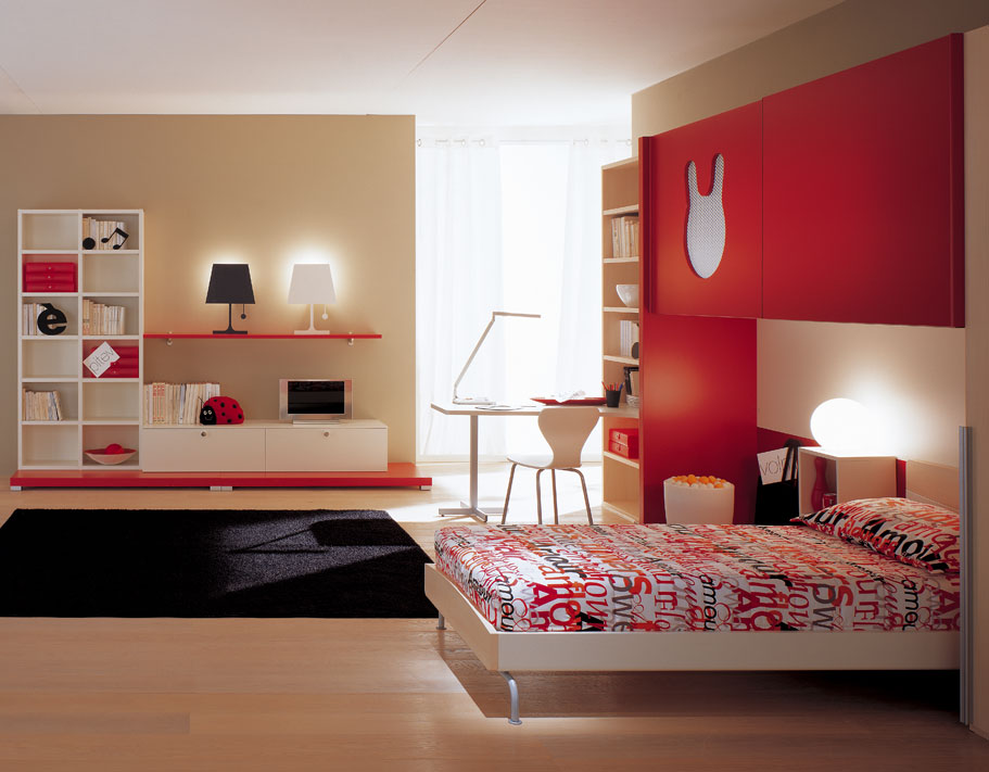 Home quotes teen bedroom designs modern space saving for Designer childrens bedroom ideas