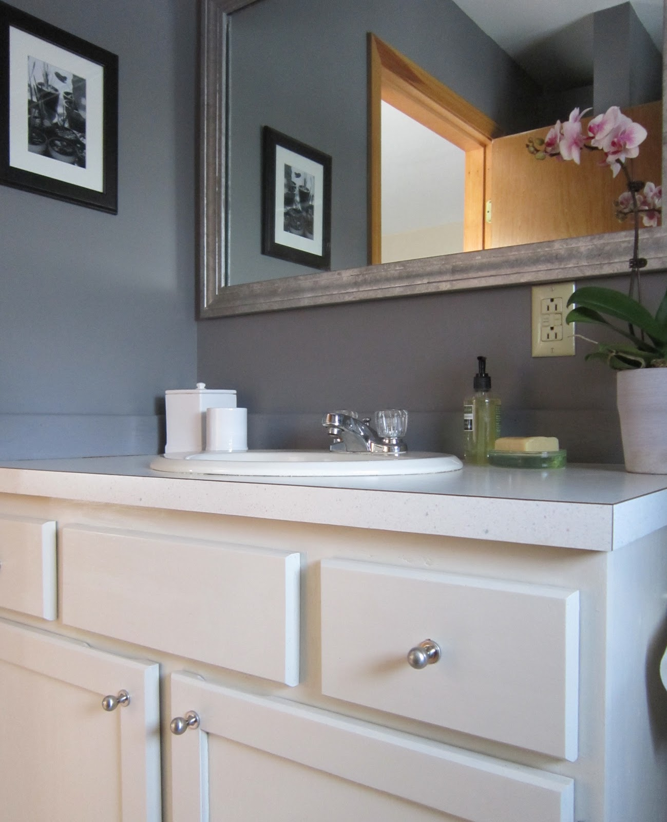 Bathroom Paint: Design Megillah: Bathroom Redesign For Under $200