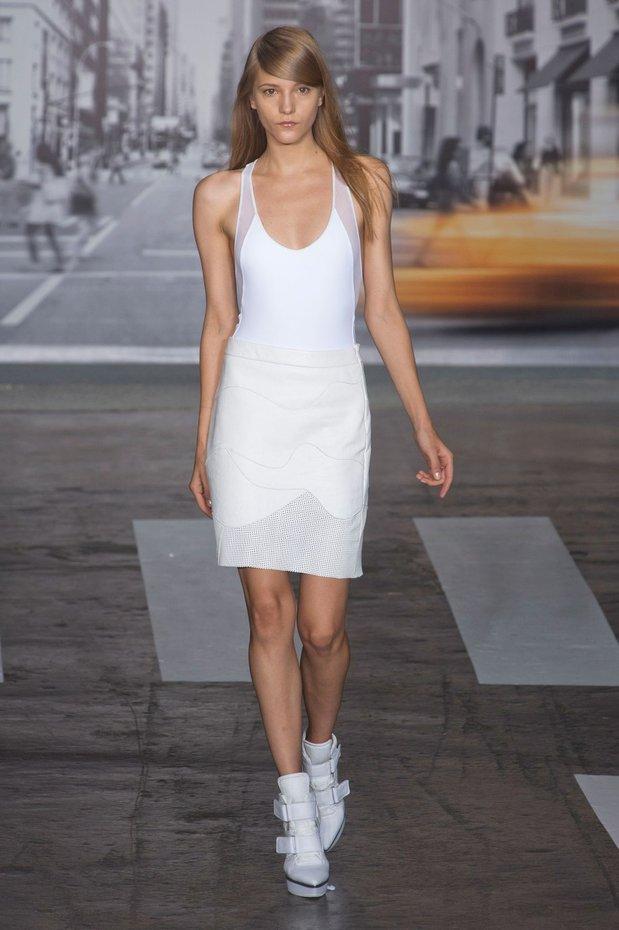 Fashion Week Ss13 Look 1 White Dresses South Molton