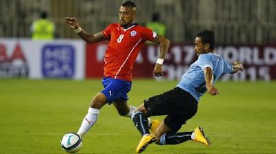 Copa America 2015 Quarterfinal: Chile vs Uruguay Live Stream