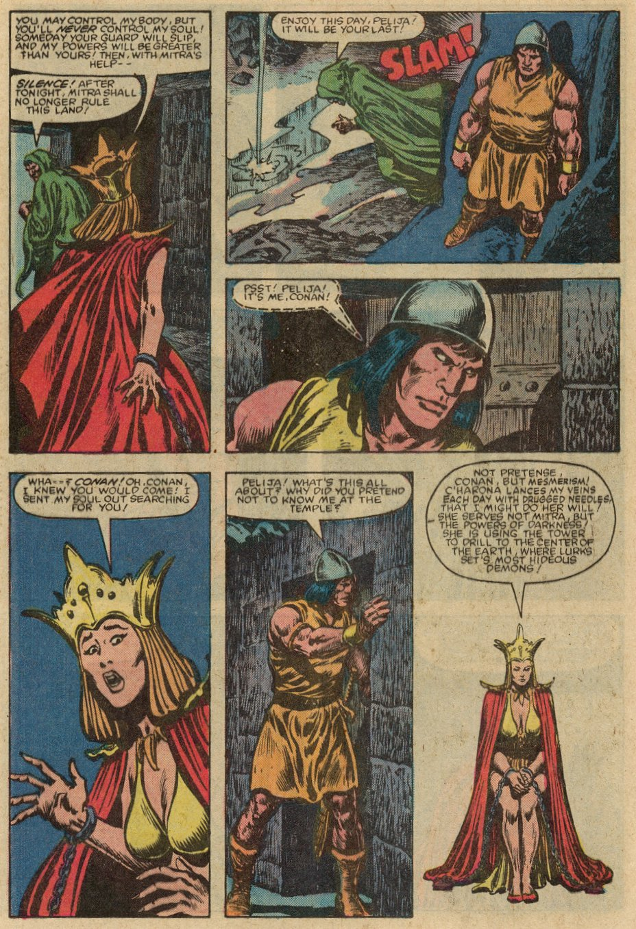 Conan the Barbarian (1970) Issue #147 #159 - English 17