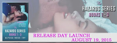The Hazards Series Release Day Launch Banner