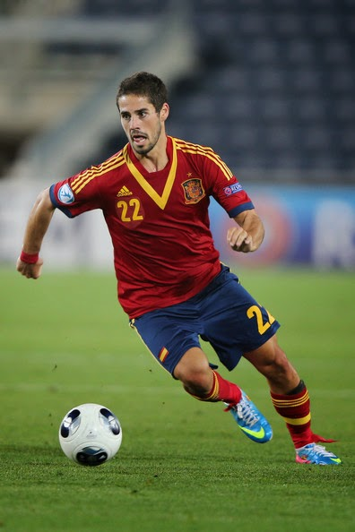 Isco (Spain) best players to Watch at FIFA World Cup 2014