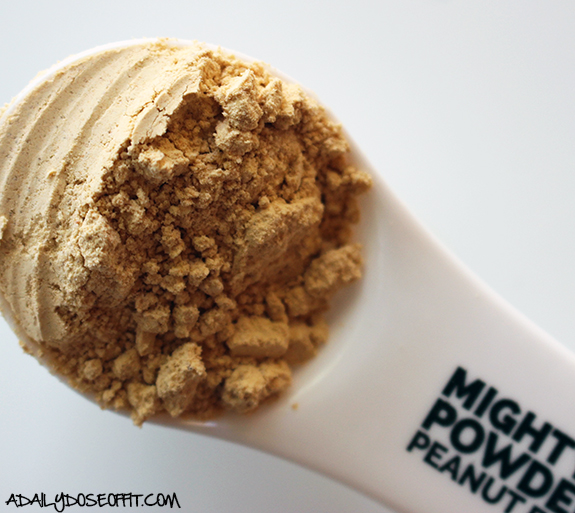 Try adding MightyNut Powdered Peanut Butter to recipes for great peanut butter flavor with less calories.